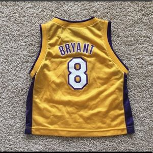 Los Angeles Lakers Kobe Bryant jersey toddler 3T
